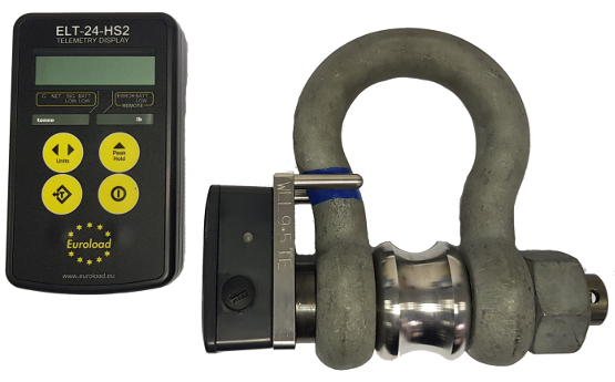 Image for G-4163 Tensile Telemetry Load Shackle, Light duty ECO product